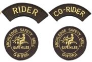 new riders patches